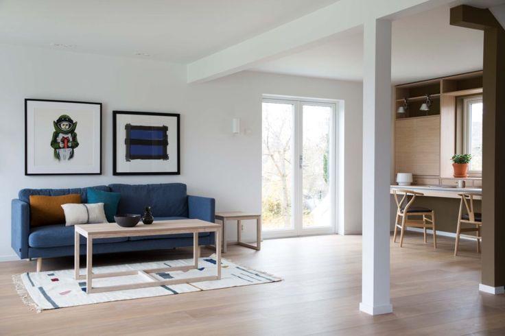 Nyfelt og Strand interiørarkitekter, enebolig nøtterøy, stue