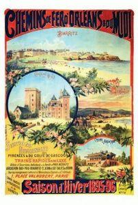 Biarritz - Château de Pau - St-Jean-de-Luz - Casino d'Arcachon 1