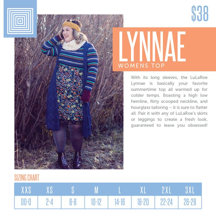The new fan favorite Lynnae features long sleeves, scoop neck, and a high low hemline. Perfect with any outfit and provides great coverage for leggings. Available now in xxs-3xl at www.facebook.com/groups/lularoejodieotoole