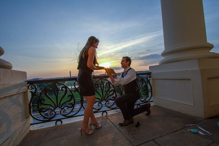 A tear-jerker wedding proposal in Washington DC | Click the image to view the amazing proposal video!