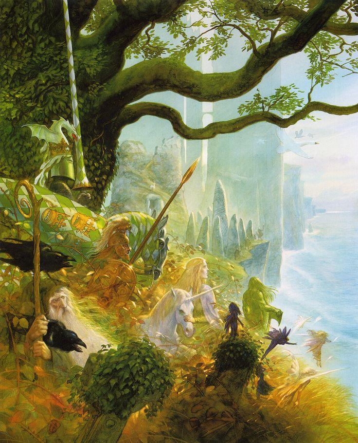 Celtic myth by John Howe
