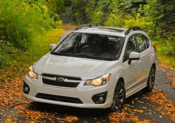 2012 Subaru Impreza 1.6 Review - Front Picture