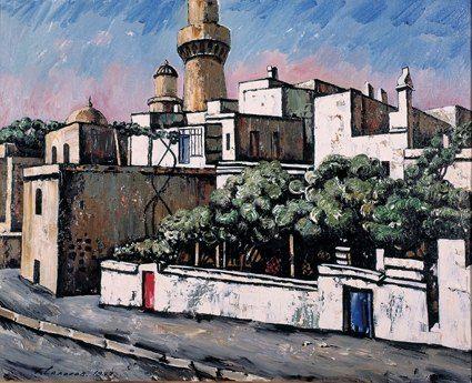 TahirSalahov-Drevny-Baku-1997.jpg (425×345)