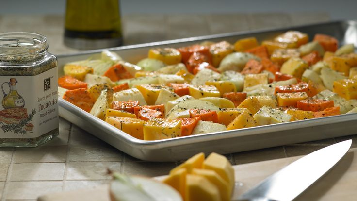 Spice-roasted Winter Vegetables