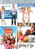 Good Luck Chuck/Coming Soon/Dude, Where's My Car/Giving It Up [4 Discs] [DVD]
