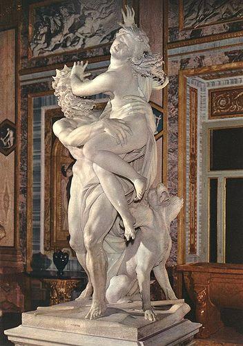 El rapto de Perséfone, Galeria Borghese, Roma