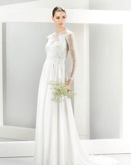 svadobné šaty 2015 JESUS PEIRO model 5072 spredu