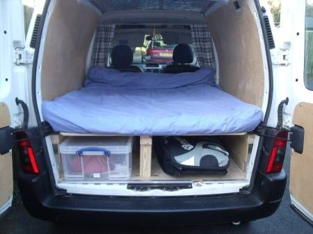 Ford Galaxy Camper Conversion >> Photos Vivastreet peugeot partner day surf camper | Truck Bed | Pinterest | Peugeot, Vans and ...