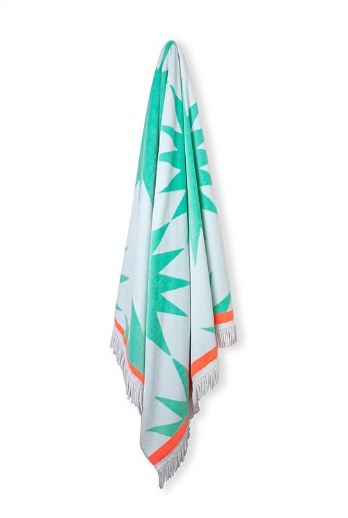 Country Road - Hermosa Beach Towel