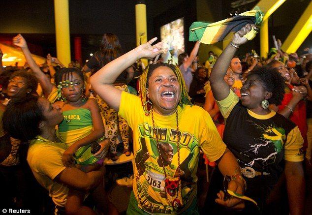 London 2012 Olympics: Usain Bolt celebrates 100m win at 3am with ...