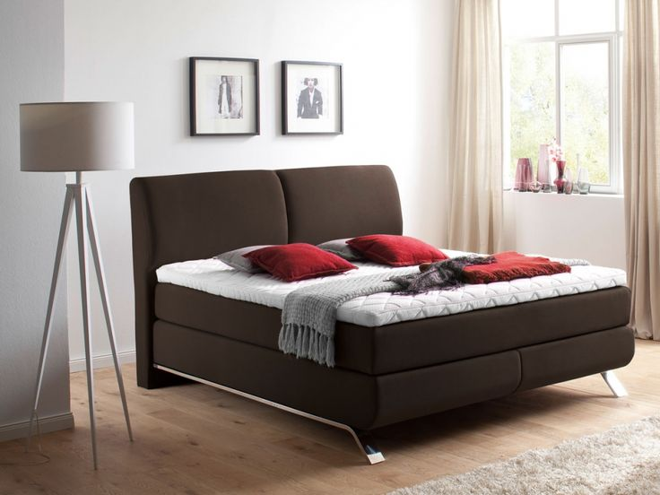 ber ideen zu boxspringbett 160x200 auf pinterest. Black Bedroom Furniture Sets. Home Design Ideas