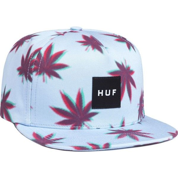Huf 3D Plantlife Snapback Hat ($16) ❤ liked on Polyvore featuring accessories, hats, snap back hats, huf snapback, huf hats, snapback hats and huf
