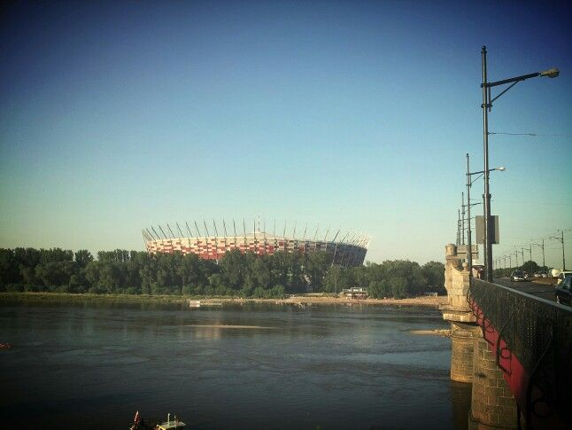 National stadium in Warsaw.