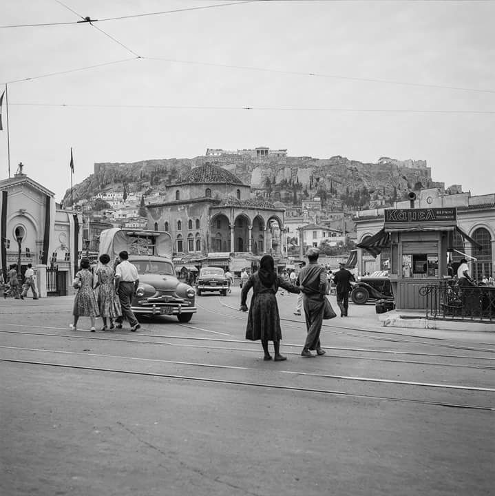 Robert McCabe Αθηνα Μοναστηράκι 1954