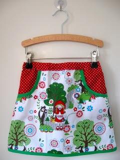 'Roodkapje rokje' - zie 'Milkmaids skirt'