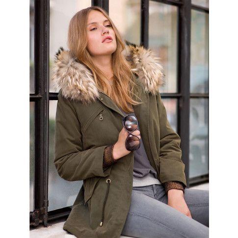 Draußen wird's wieder kalt? Nix wie her mit diesem tollen Parka. #impressionen #fashion