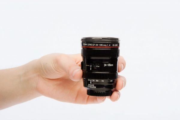 Lens Shot Glass