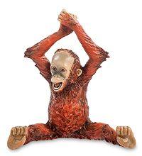 """WS-763 Статуэтка """"Детеныш орангутанга"""" скульптура обезьяна символ года 2016 новогодние подарки на новый год сувениры фигурка обезьянка новогодняя купить"""