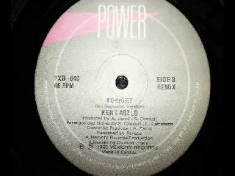 Tonight (Re remix) - Ken Laszlo 1985 italo disco