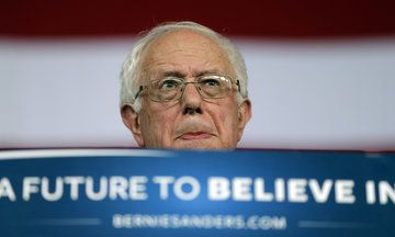 All Three Networks Ignored Bernie Sanders' Speech Tuesday Night, Promising Trump Would Be Speaking Soon