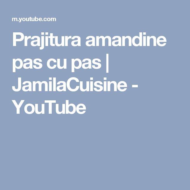 Prajitura amandine pas cu pas   JamilaCuisine - YouTube