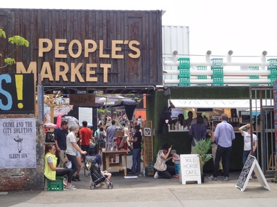 The Peoples Market, Collingwood. This needs to be on the sight seeing list next time I'm in Melb