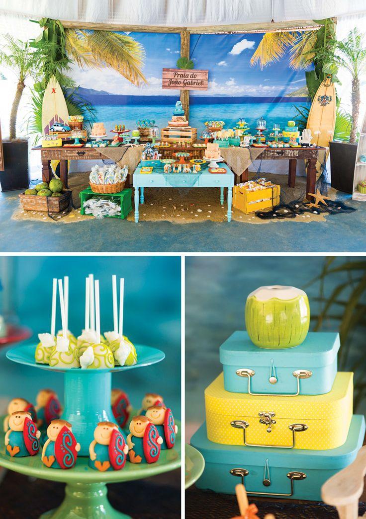 Resacas para arriba!  Fiesta de cumpleaños de la isla del paraíso increíble