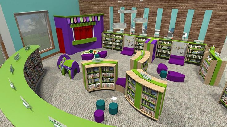 School library childrens area