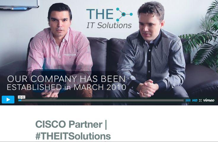 #CISCO Partner: THE IT Solutions Kft. mutatkozik be és osztja meg véleményét a CISCO eszközökről, partner programokról és promóciókról. A THE IT Solutions papíron fiatal, de a szakmában tapasztalt. Mérnökeik kivétel nélkül sokéves tapasztalattal rendelkeznek az informatikai technológiák világában. Kis-, közép- és nagyvállalatoknak egyaránt szolgáltatnak magas színvonalon és megbízhatóan. #cloudcondition