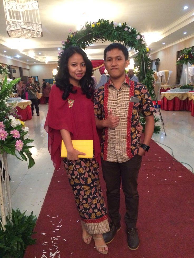 Chiffon - Batik Batu Tulis Wedding Mala & Ierfan