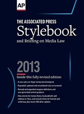 Associated Press Stylebook -The Bible for PR people, too!