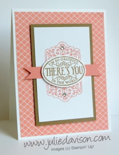 Julies Stamping Spot -- Stampin Up! Project Ideas Posted Daily: Chalk Talk: Simple vs Stepped-Up