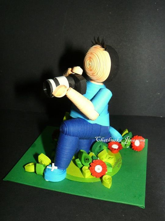 Photographer - Paper Quilling Talents of Chathurka Jinasena