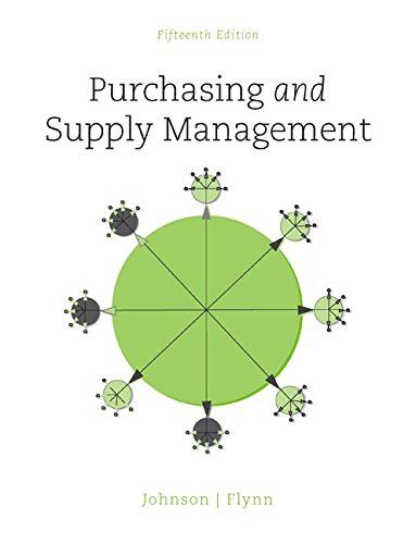 Purchasing and Supply Management (The Mcgraw-Hill Series in Operations and Decision Sciences)