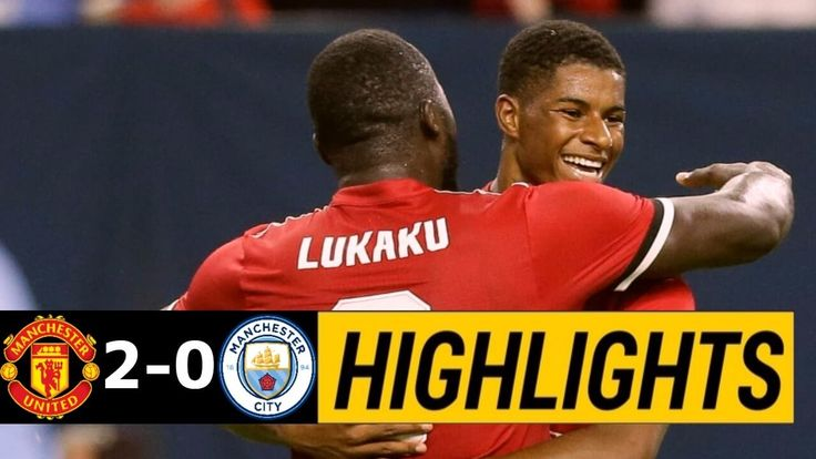 VIDEO: Man United 2-0 Man City