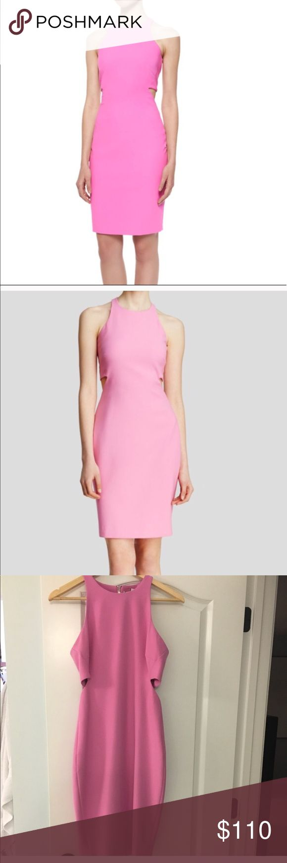 Elizabeth and James Lela cutout dress, pink, 6 Gorgeous piece!!! Bought it from another posher and it fit a little snug :( She was right—this dress is an absolute showstopper in perfect condition! Elizabeth and James Dresses