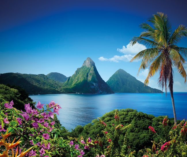 The Best February Honeymoons; experience St. Lucia