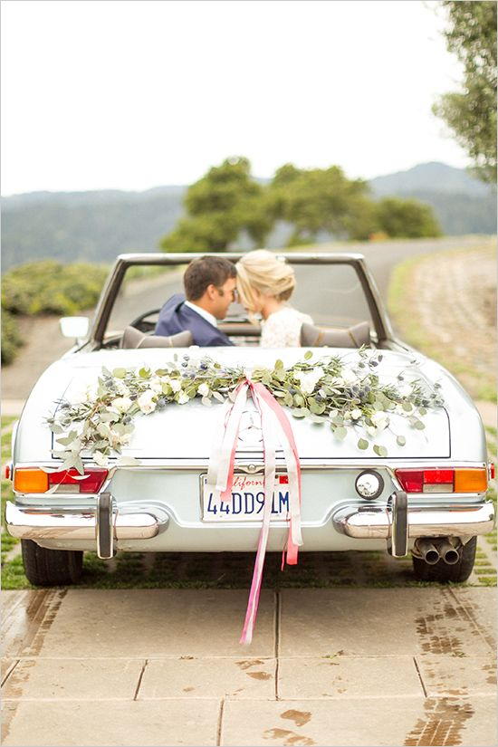 wedding car decor ideas @weddingchicks