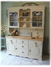 Stunning Bespoke Solid Pine French Inspired Country Kitchen Dresser Shabby Chic