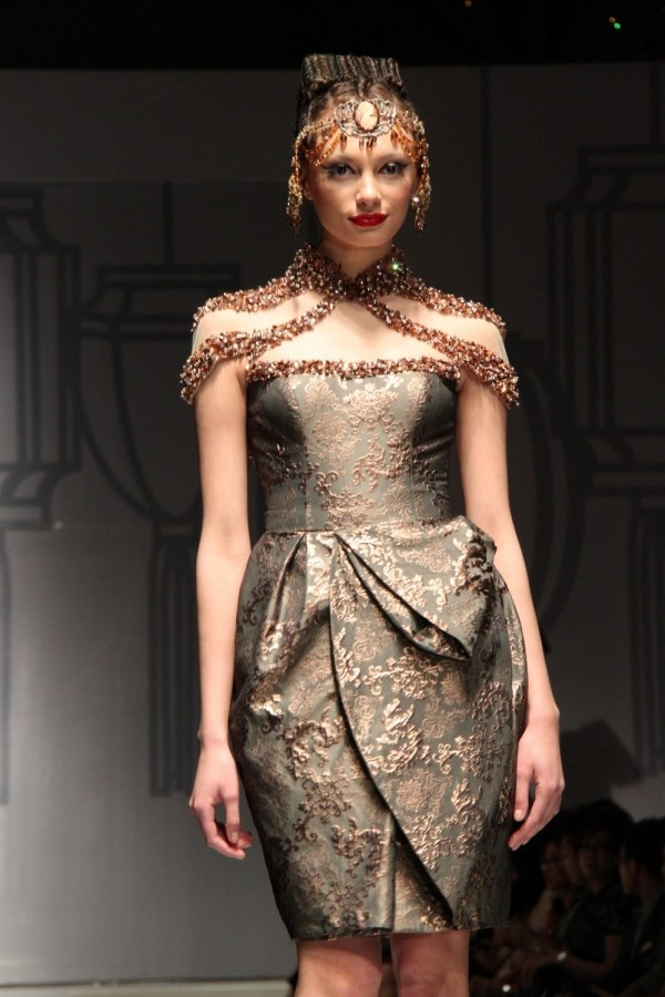Sebastian Gunawan's Cheongsam Festivity | Indonesian Fashion Spot!