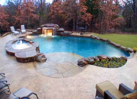 17 best images about pools on pinterest fiberglass pools for Nice inground pools