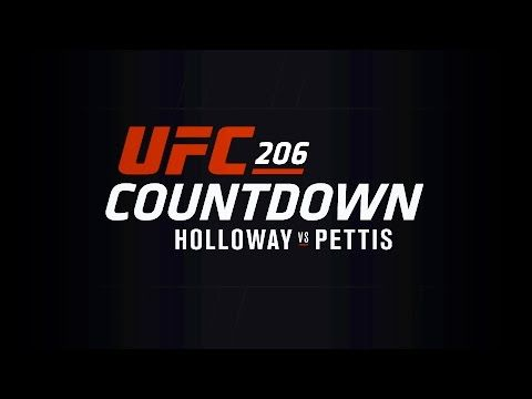 UFC 206 Countdown: Holloway vs Pettis - http://www.lowkickmma.com/UFC/ufc-206-countdown-holloway-vs-pettis/