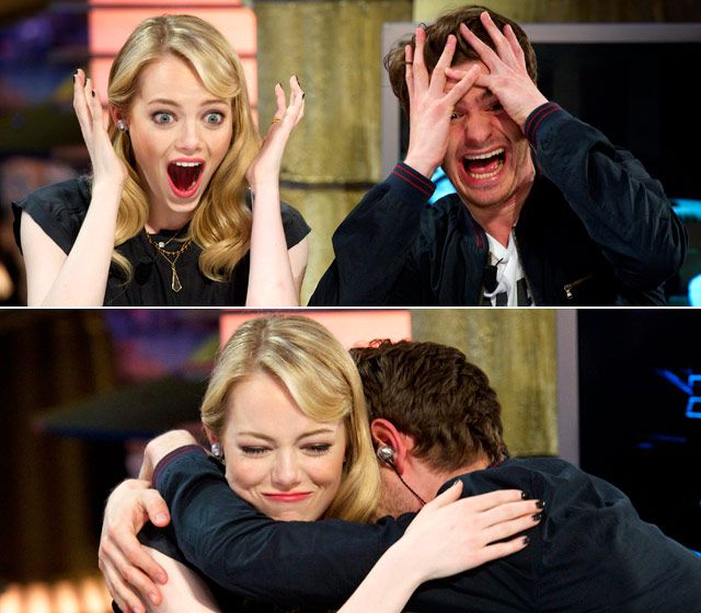 Emma Stone and Andrew Garfield's Sweetest Moments ...
