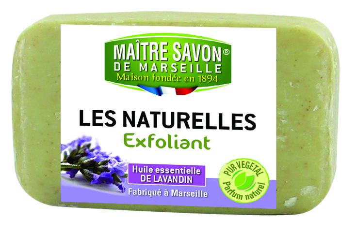 Les Naturelles - Savon exfoliant Lavande