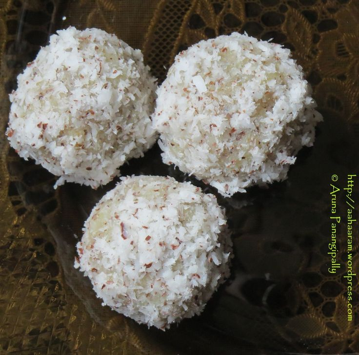Quick and Easy Coconut Laddoo or Nariyal Laddu