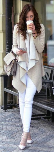 Perfect ways to wear white denim jeans outfits 80