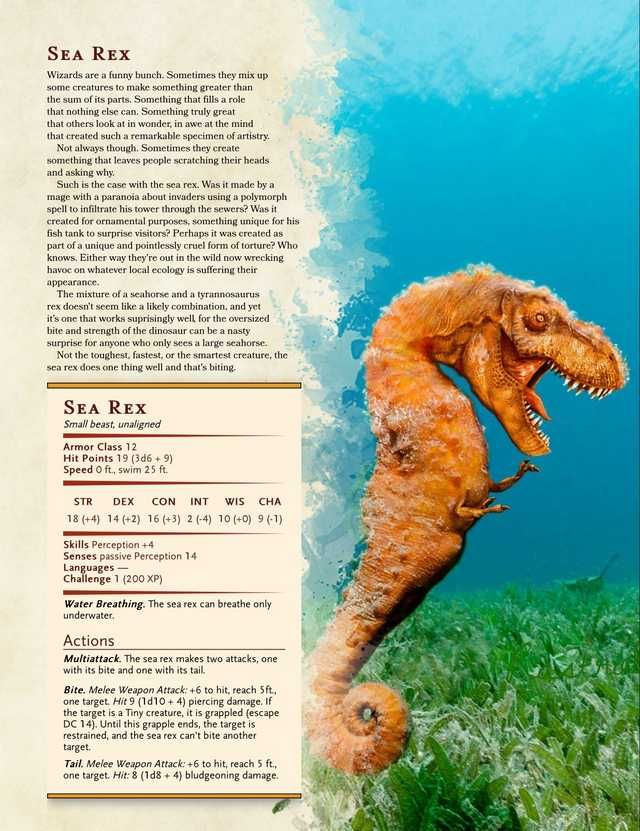 Every DnD homebrew monster I could find in 2019 | Gaming | Dnd 5e
