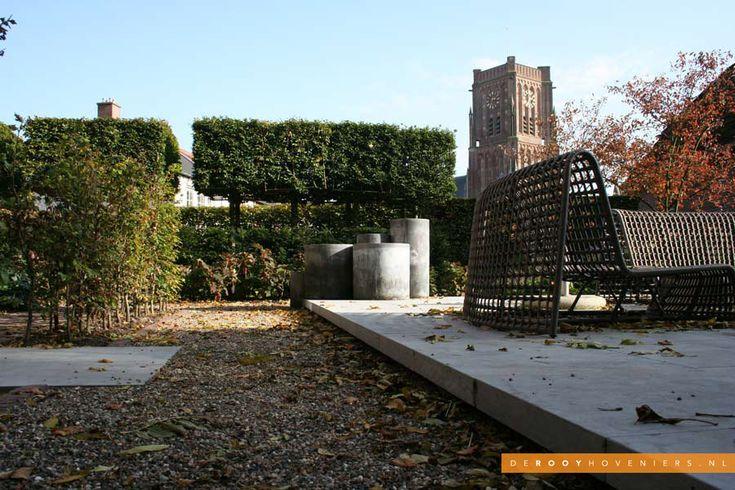 Tuininspiratie De Rooy Hoveniers stadstuin tuin van het jaar 2014 verhoogd terras Woudrichem