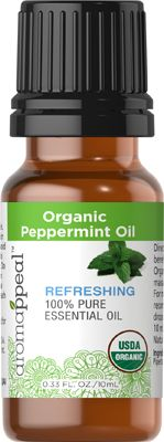 Organic Peppermint Oil 10 ML $6.40