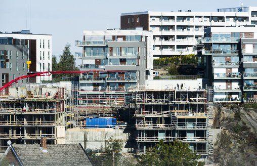 HETT marked: Mange ønsker å kjøpe seg bolig i Fredrikstad. Bankene merker det på solid økning i lånesøknader. Bryggerifjellet er en av plassene som er populære i sentrum